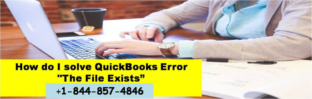 QuickBooks Error The File Exists