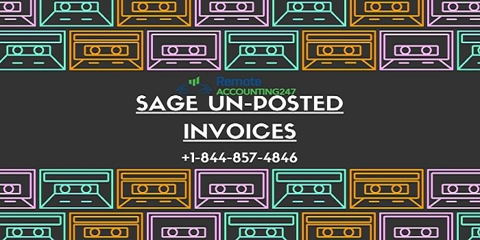 Sage Unposted Invoices