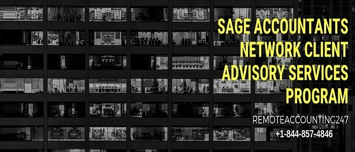 Sage Accountants Network Client Advisory Services Program
