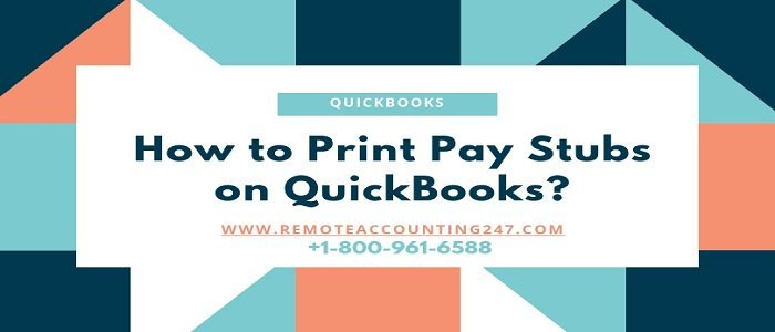 QuickBooks Online Pay Stubs