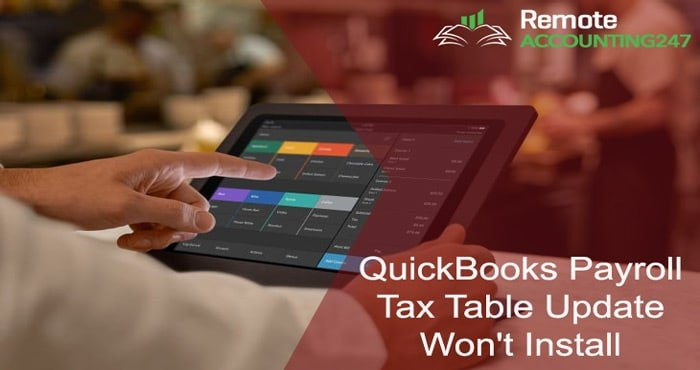 My QuickBooks Payroll Tax Table Update Won't Install Correctly and it is Causing the Software to Freeze Up