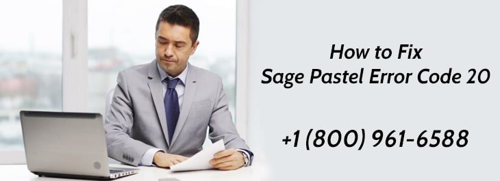 How to Fix Sage Pastel Error Code 20