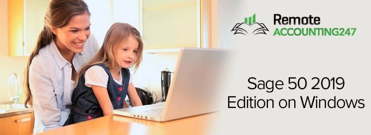 Sage 50 2019 Edition on Windows