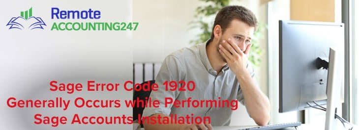How to Fix Sage Error Code 1920