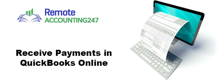 Receive Payments in QuickBooks Online
