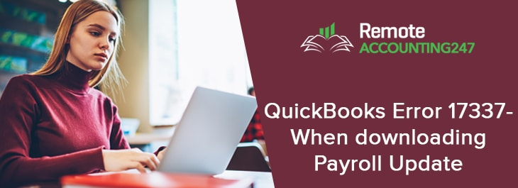 QuickBooks Error 17337