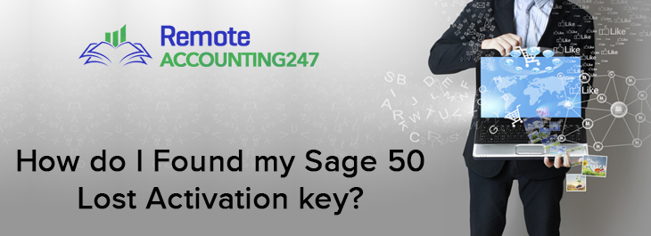 Sage 50 Lost Activation key